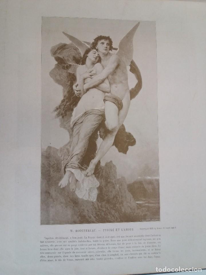 Libros antiguos: MARAVILLOSO ALBUM LE PANORAMA SALON PRECIOSOS CUADROS MAS DE 120 AÑOS GRAN FORMATO - Foto 71 - 220274280