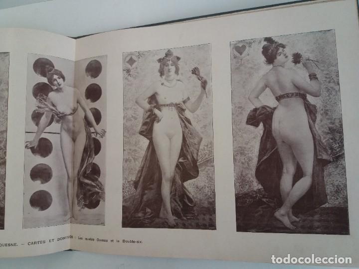 Libros antiguos: MARAVILLOSO ALBUM LE PANORAMA SALON PRECIOSOS CUADROS MAS DE 120 AÑOS GRAN FORMATO - Foto 73 - 220274280