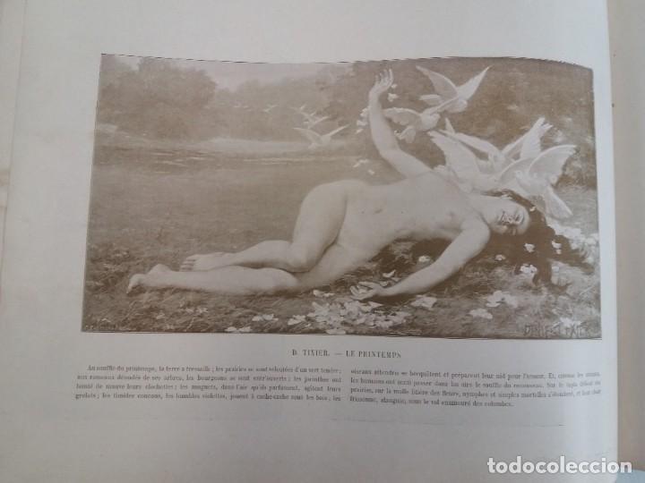 Libros antiguos: MARAVILLOSO ALBUM LE PANORAMA SALON PRECIOSOS CUADROS MAS DE 120 AÑOS GRAN FORMATO - Foto 74 - 220274280