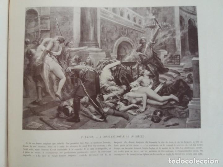 Libros antiguos: MARAVILLOSO ALBUM LE PANORAMA SALON PRECIOSOS CUADROS MAS DE 120 AÑOS GRAN FORMATO - Foto 75 - 220274280
