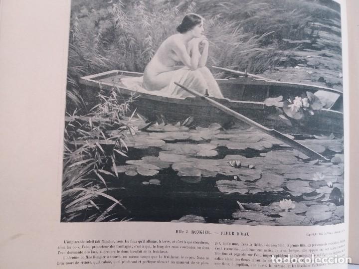 Libros antiguos: MARAVILLOSO ALBUM LE PANORAMA SALON PRECIOSOS CUADROS MAS DE 120 AÑOS GRAN FORMATO - Foto 76 - 220274280