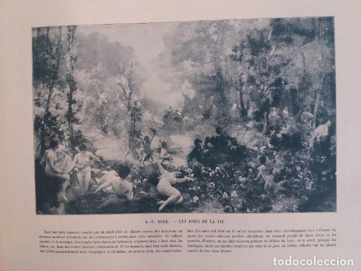 Libros antiguos: MARAVILLOSO ALBUM LE PANORAMA SALON PRECIOSOS CUADROS MAS DE 120 AÑOS GRAN FORMATO - Foto 77 - 220274280
