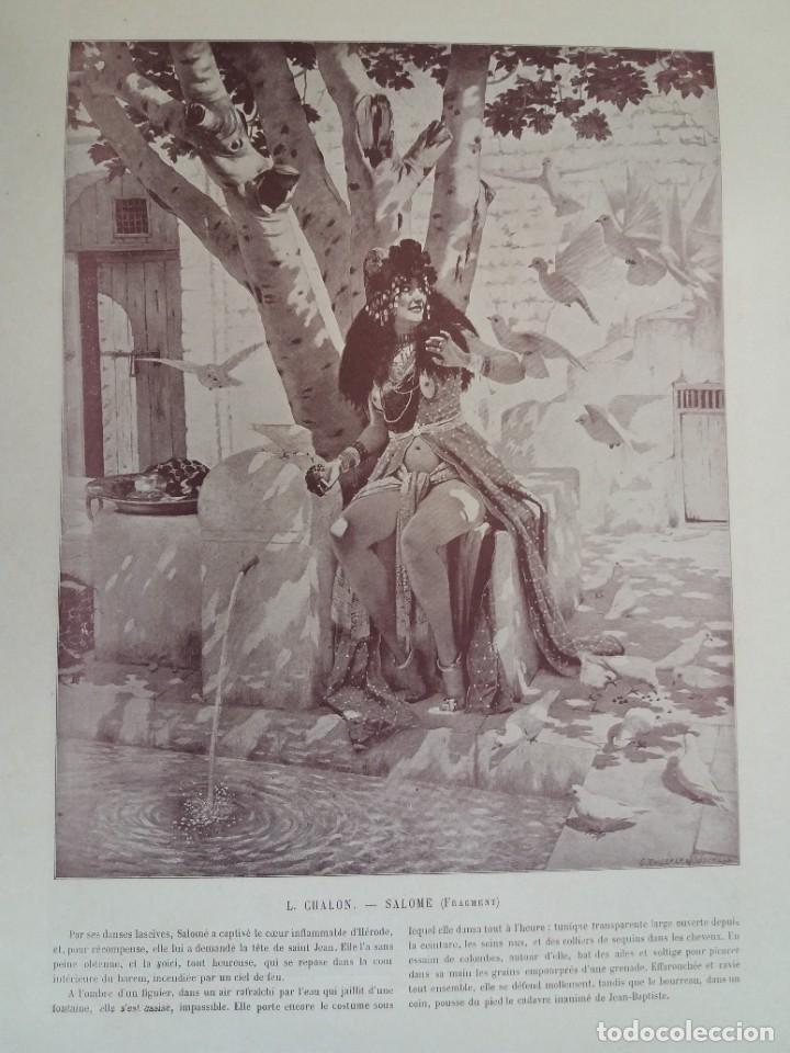 Libros antiguos: MARAVILLOSO ALBUM LE PANORAMA SALON PRECIOSOS CUADROS MAS DE 120 AÑOS GRAN FORMATO - Foto 79 - 220274280