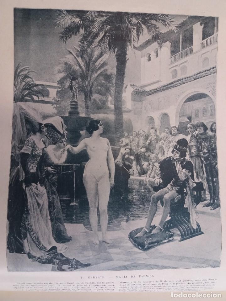 Libros antiguos: MARAVILLOSO ALBUM LE PANORAMA SALON PRECIOSOS CUADROS MAS DE 120 AÑOS GRAN FORMATO - Foto 80 - 220274280