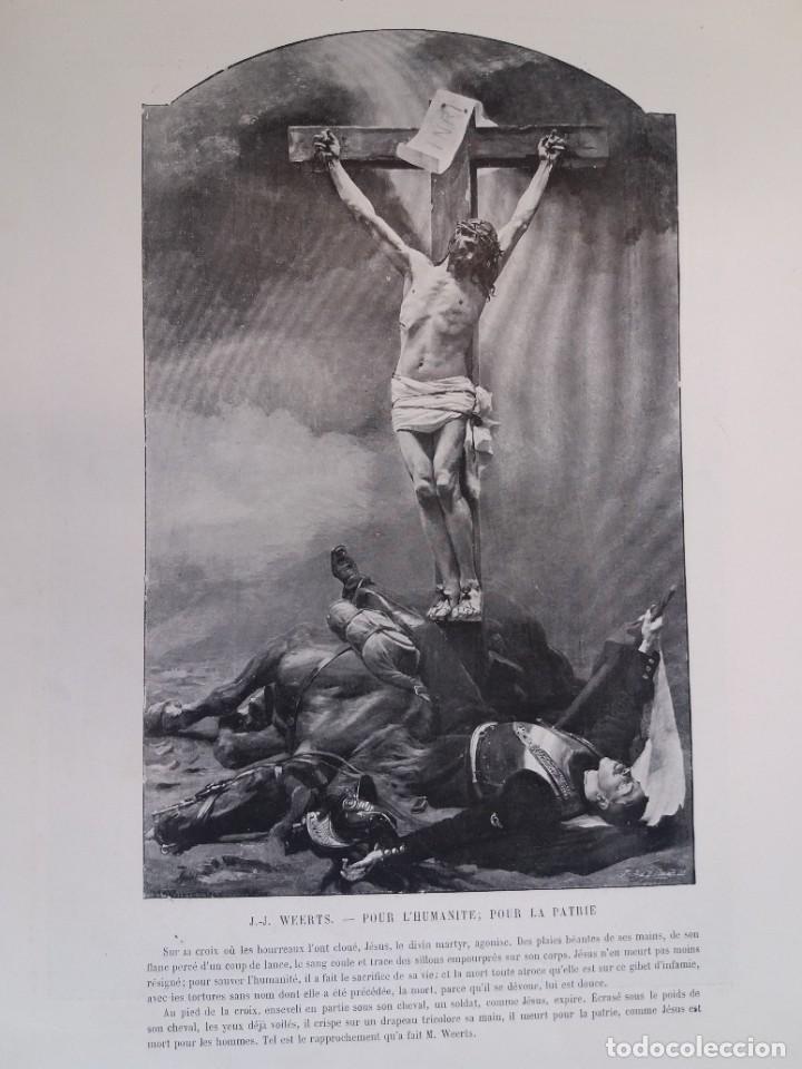 Libros antiguos: MARAVILLOSO ALBUM LE PANORAMA SALON PRECIOSOS CUADROS MAS DE 120 AÑOS GRAN FORMATO - Foto 81 - 220274280