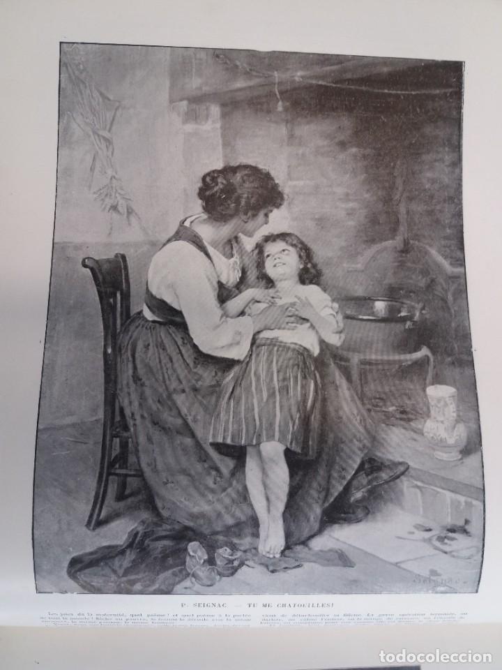Libros antiguos: MARAVILLOSO ALBUM LE PANORAMA SALON PRECIOSOS CUADROS MAS DE 120 AÑOS GRAN FORMATO - Foto 82 - 220274280