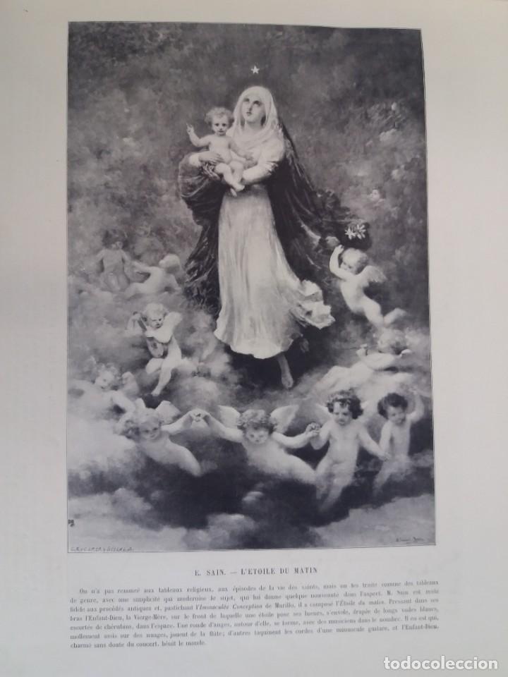 Libros antiguos: MARAVILLOSO ALBUM LE PANORAMA SALON PRECIOSOS CUADROS MAS DE 120 AÑOS GRAN FORMATO - Foto 83 - 220274280