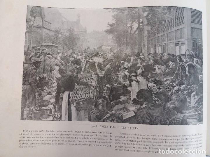 Libros antiguos: MARAVILLOSO ALBUM LE PANORAMA SALON PRECIOSOS CUADROS MAS DE 120 AÑOS GRAN FORMATO - Foto 86 - 220274280
