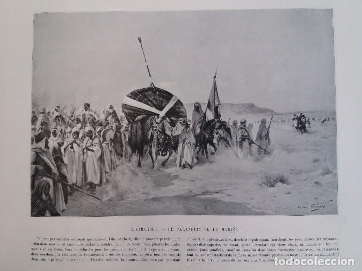 Libros antiguos: MARAVILLOSO ALBUM LE PANORAMA SALON PRECIOSOS CUADROS MAS DE 120 AÑOS GRAN FORMATO - Foto 87 - 220274280