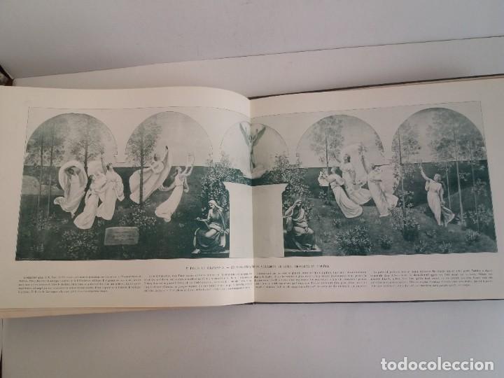 Libros antiguos: MARAVILLOSO ALBUM LE PANORAMA SALON PRECIOSOS CUADROS MAS DE 120 AÑOS GRAN FORMATO - Foto 88 - 220274280