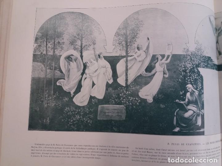 Libros antiguos: MARAVILLOSO ALBUM LE PANORAMA SALON PRECIOSOS CUADROS MAS DE 120 AÑOS GRAN FORMATO - Foto 90 - 220274280