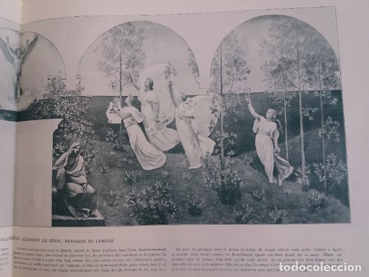 Libros antiguos: MARAVILLOSO ALBUM LE PANORAMA SALON PRECIOSOS CUADROS MAS DE 120 AÑOS GRAN FORMATO - Foto 91 - 220274280