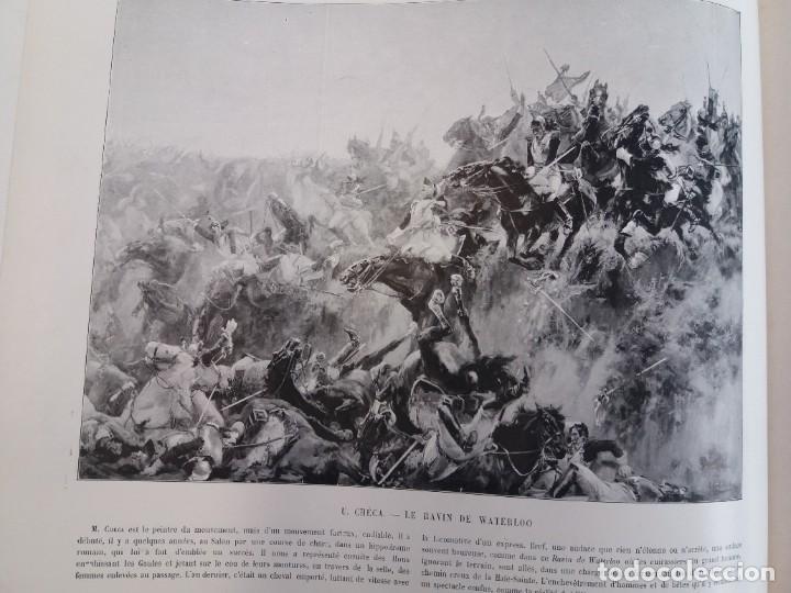 Libros antiguos: MARAVILLOSO ALBUM LE PANORAMA SALON PRECIOSOS CUADROS MAS DE 120 AÑOS GRAN FORMATO - Foto 92 - 220274280
