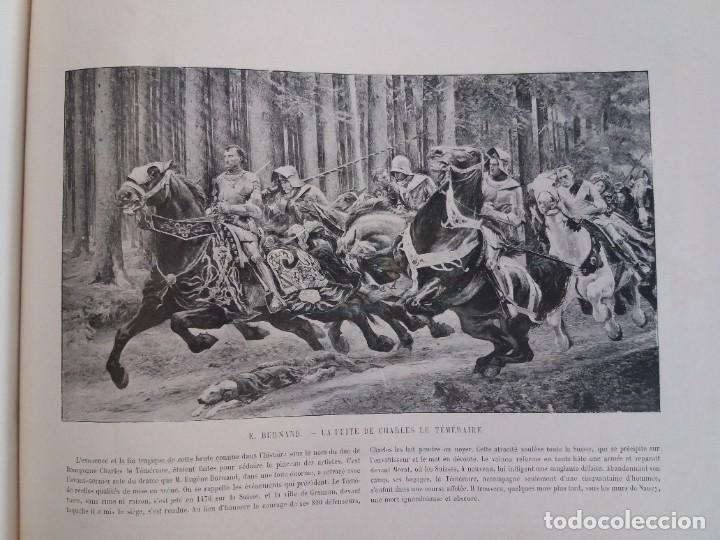 Libros antiguos: MARAVILLOSO ALBUM LE PANORAMA SALON PRECIOSOS CUADROS MAS DE 120 AÑOS GRAN FORMATO - Foto 93 - 220274280