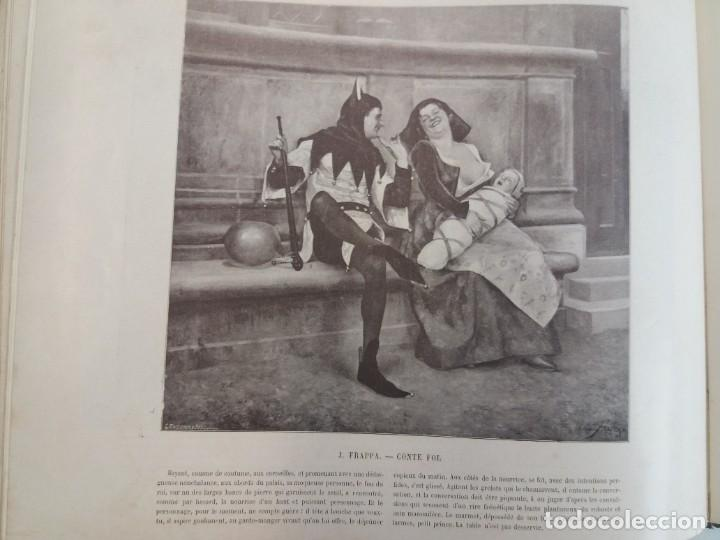 Libros antiguos: MARAVILLOSO ALBUM LE PANORAMA SALON PRECIOSOS CUADROS MAS DE 120 AÑOS GRAN FORMATO - Foto 94 - 220274280