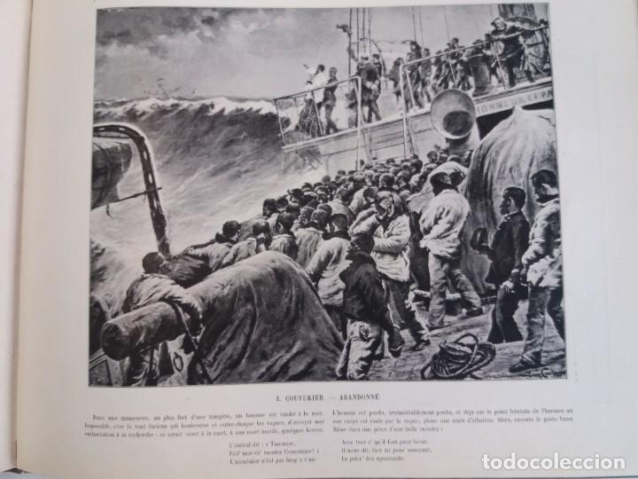 Libros antiguos: MARAVILLOSO ALBUM LE PANORAMA SALON PRECIOSOS CUADROS MAS DE 120 AÑOS GRAN FORMATO - Foto 95 - 220274280