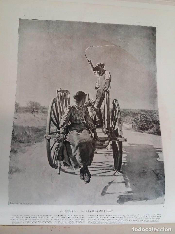Libros antiguos: MARAVILLOSO ALBUM LE PANORAMA SALON PRECIOSOS CUADROS MAS DE 120 AÑOS GRAN FORMATO - Foto 98 - 220274280