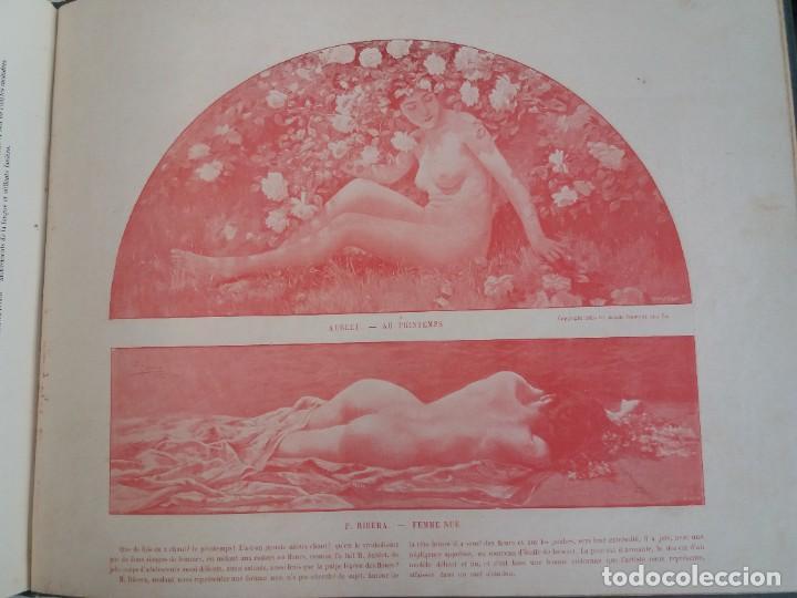Libros antiguos: MARAVILLOSO ALBUM LE PANORAMA SALON PRECIOSOS CUADROS MAS DE 120 AÑOS GRAN FORMATO - Foto 99 - 220274280