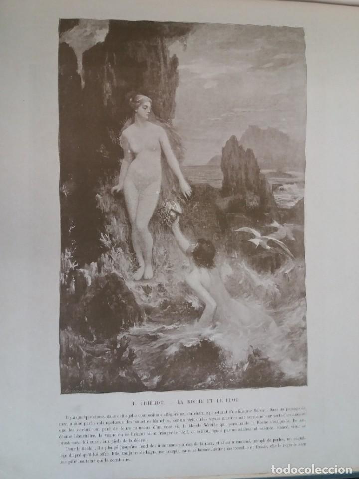 Libros antiguos: MARAVILLOSO ALBUM LE PANORAMA SALON PRECIOSOS CUADROS MAS DE 120 AÑOS GRAN FORMATO - Foto 103 - 220274280