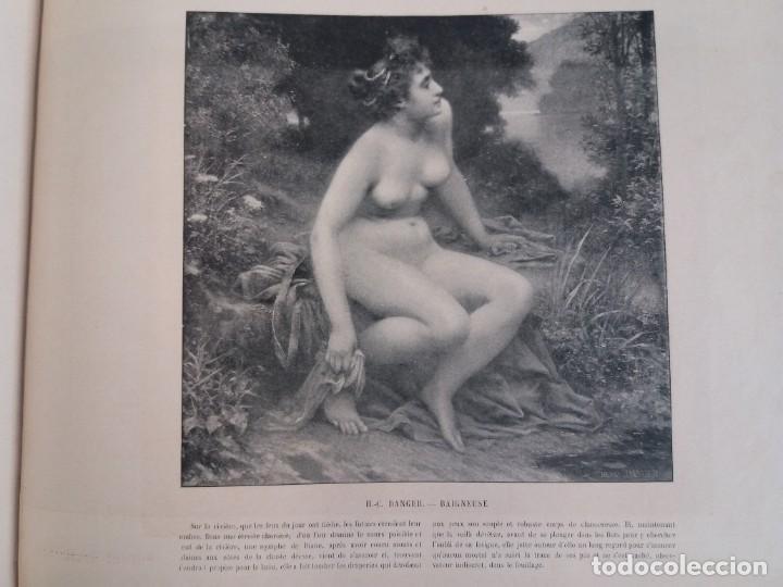 Libros antiguos: MARAVILLOSO ALBUM LE PANORAMA SALON PRECIOSOS CUADROS MAS DE 120 AÑOS GRAN FORMATO - Foto 105 - 220274280