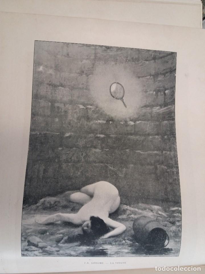 Libros antiguos: MARAVILLOSO ALBUM LE PANORAMA SALON PRECIOSOS CUADROS MAS DE 120 AÑOS GRAN FORMATO - Foto 109 - 220274280