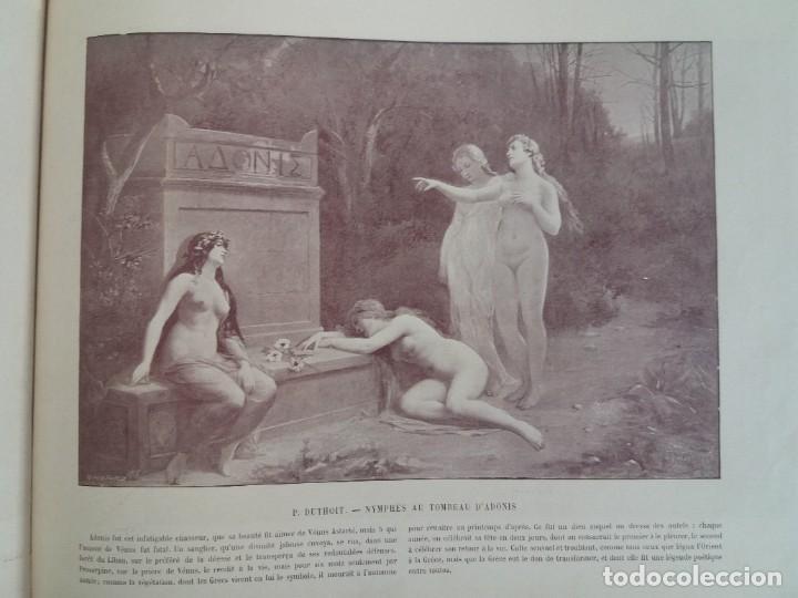 Libros antiguos: MARAVILLOSO ALBUM LE PANORAMA SALON PRECIOSOS CUADROS MAS DE 120 AÑOS GRAN FORMATO - Foto 110 - 220274280