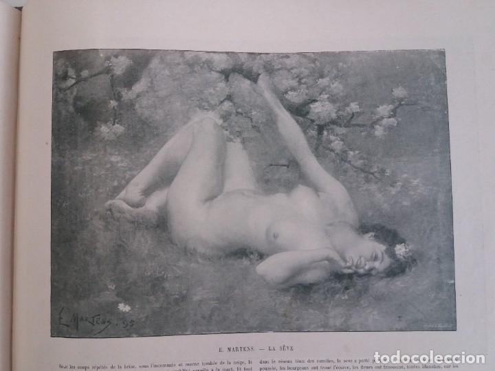Libros antiguos: MARAVILLOSO ALBUM LE PANORAMA SALON PRECIOSOS CUADROS MAS DE 120 AÑOS GRAN FORMATO - Foto 112 - 220274280