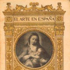 Libros antiguos: EL ARTE EN ESPAÑA: MUSEO DE BELLAS ARTES DE CÁDIZ,48 ILUSTRACIONES DE THOMAS Y TEXTO DE PELAYO QUINT. Lote 220418257