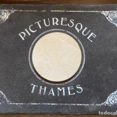 Libros antiguos: PICTURESQUE THAMES. Lote 221463835