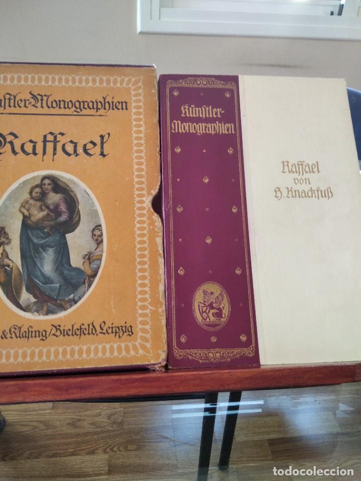 RAFFAEL VON KNACKFUB-KUNFTLER MONOGRAPHIEN-EJEMPLAR Nº1 DE LA COLECCION--LEIPZIG-1924 (Libros Antiguos, Raros y Curiosos - Bellas artes, ocio y coleccion - Pintura)