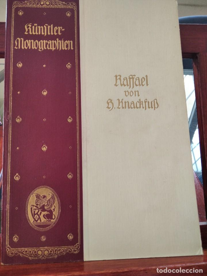Libros antiguos: RAFFAEL VON KNACKFUB-KUNFTLER MONOGRAPHIEN-EJEMPLAR Nº1 DE LA COLECCION--LEIPZIG-1924 - Foto 2 - 221827520