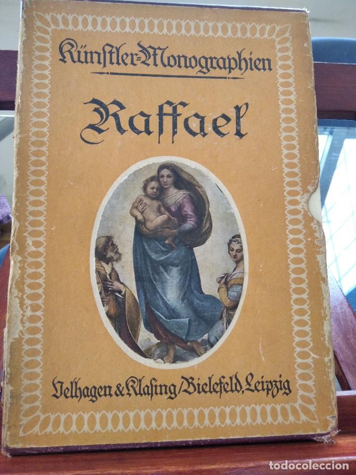 Libros antiguos: RAFFAEL VON KNACKFUB-KUNFTLER MONOGRAPHIEN-EJEMPLAR Nº1 DE LA COLECCION--LEIPZIG-1924 - Foto 3 - 221827520