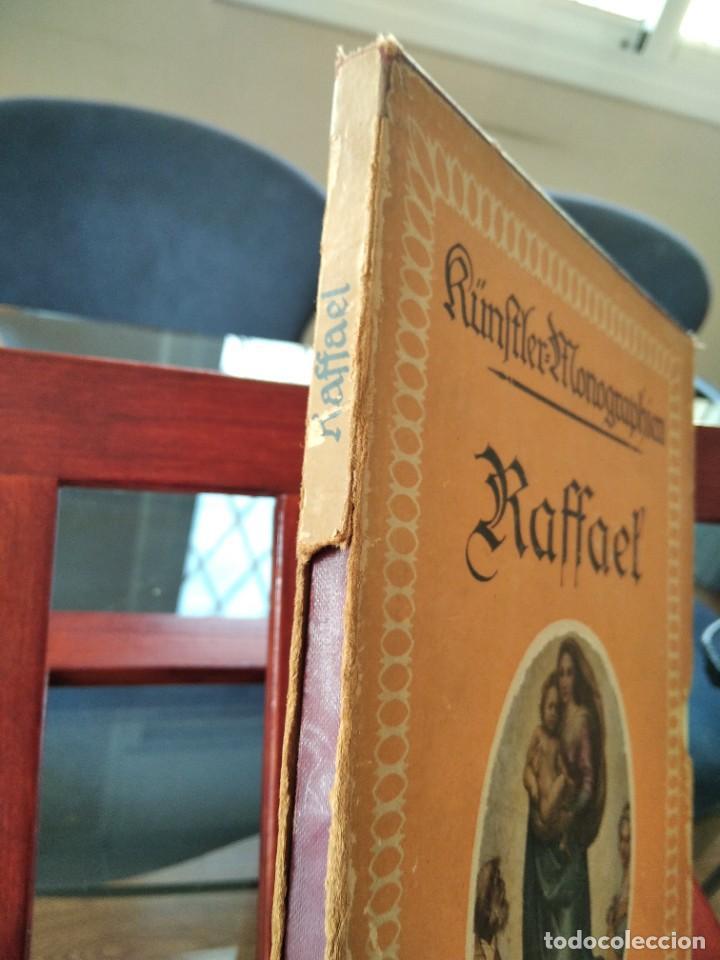 Libros antiguos: RAFFAEL VON KNACKFUB-KUNFTLER MONOGRAPHIEN-EJEMPLAR Nº1 DE LA COLECCION--LEIPZIG-1924 - Foto 4 - 221827520