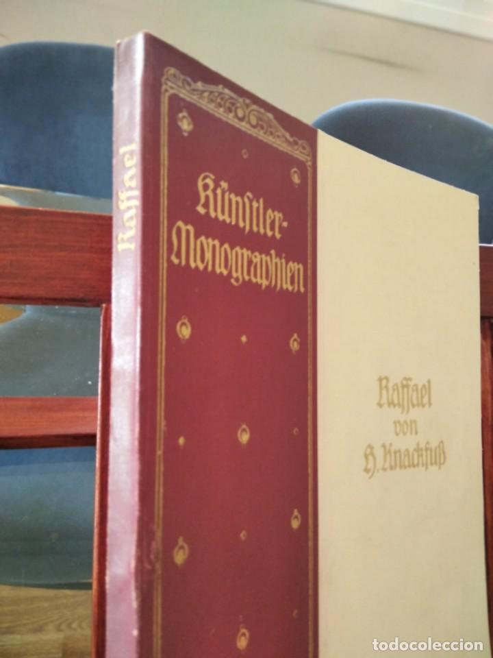 Libros antiguos: RAFFAEL VON KNACKFUB-KUNFTLER MONOGRAPHIEN-EJEMPLAR Nº1 DE LA COLECCION--LEIPZIG-1924 - Foto 6 - 221827520