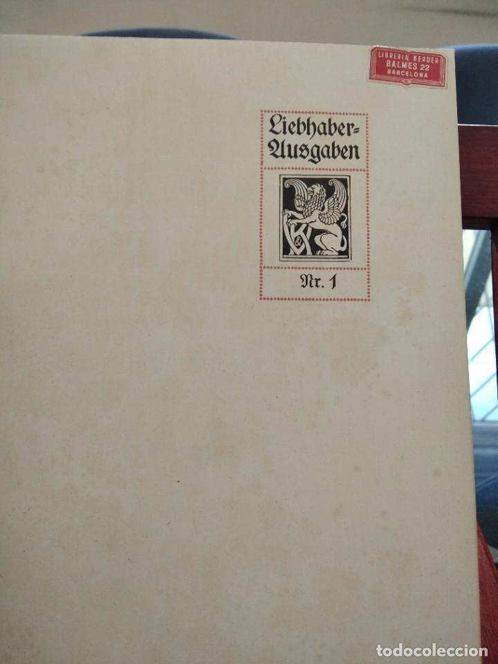 Libros antiguos: RAFFAEL VON KNACKFUB-KUNFTLER MONOGRAPHIEN-EJEMPLAR Nº1 DE LA COLECCION--LEIPZIG-1924 - Foto 8 - 221827520