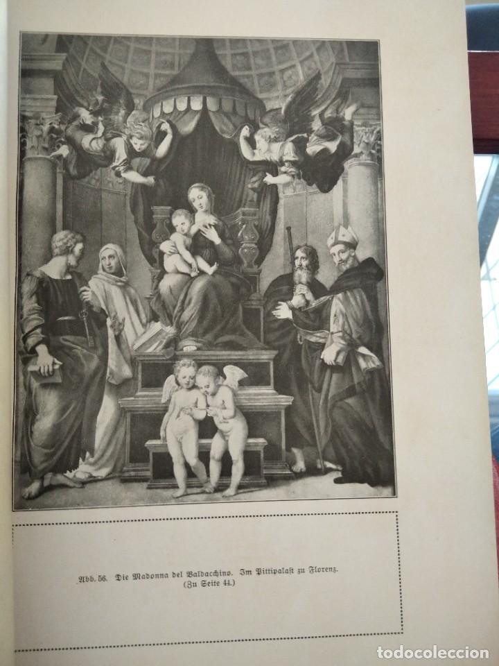 Libros antiguos: RAFFAEL VON KNACKFUB-KUNFTLER MONOGRAPHIEN-EJEMPLAR Nº1 DE LA COLECCION--LEIPZIG-1924 - Foto 11 - 221827520
