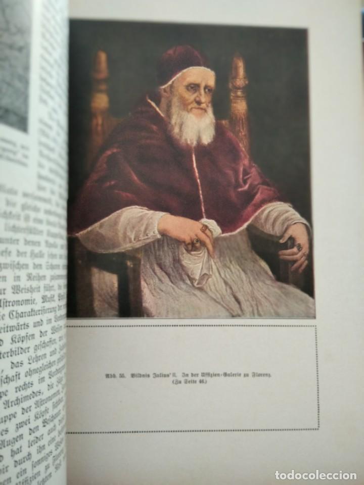 Libros antiguos: RAFFAEL VON KNACKFUB-KUNFTLER MONOGRAPHIEN-EJEMPLAR Nº1 DE LA COLECCION--LEIPZIG-1924 - Foto 12 - 221827520