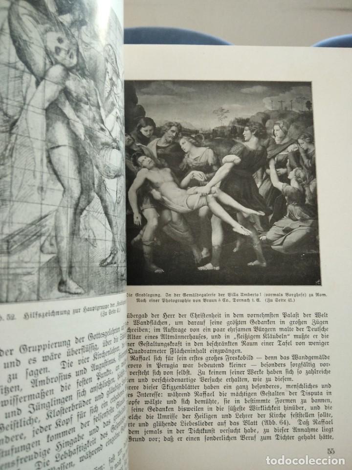 Libros antiguos: RAFFAEL VON KNACKFUB-KUNFTLER MONOGRAPHIEN-EJEMPLAR Nº1 DE LA COLECCION--LEIPZIG-1924 - Foto 14 - 221827520