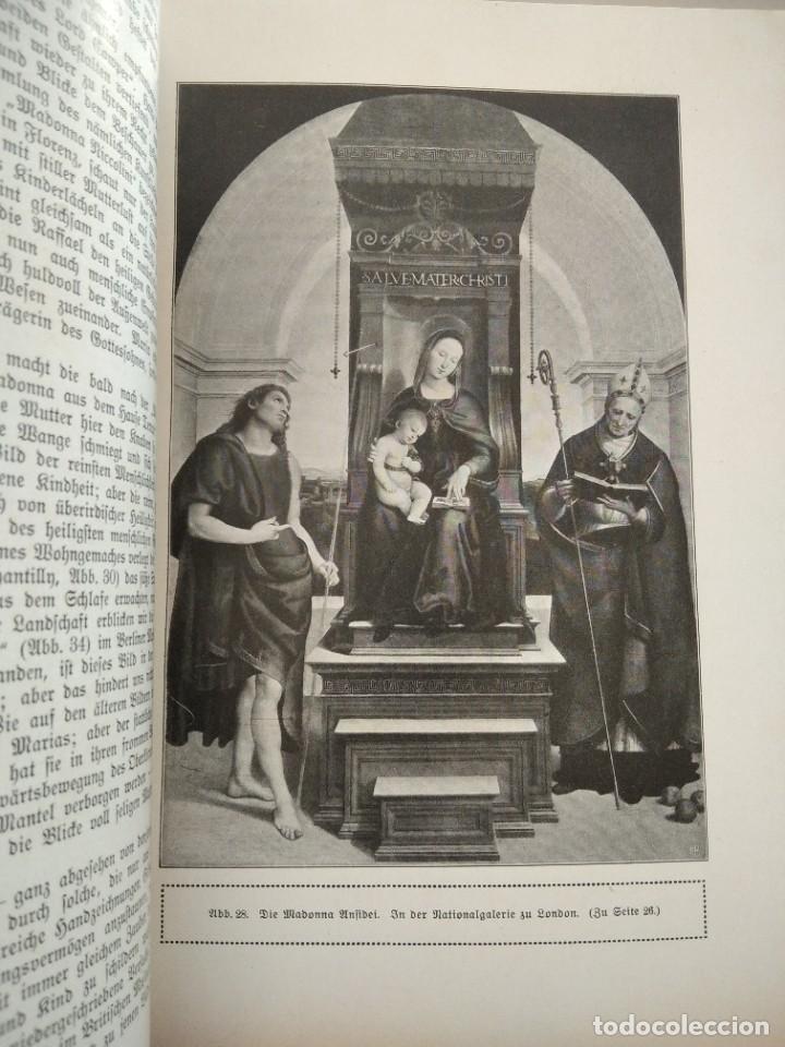 Libros antiguos: RAFFAEL VON KNACKFUB-KUNFTLER MONOGRAPHIEN-EJEMPLAR Nº1 DE LA COLECCION--LEIPZIG-1924 - Foto 15 - 221827520