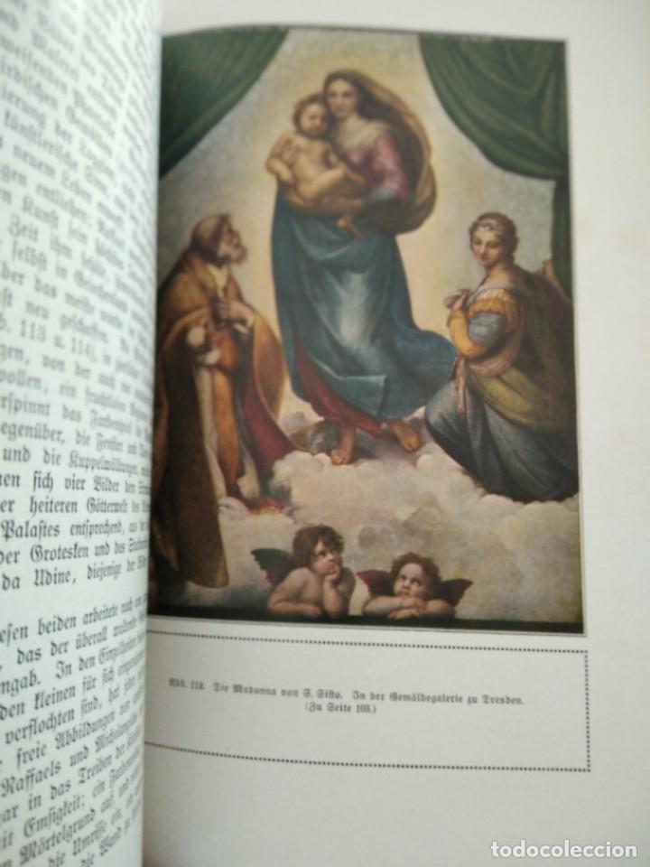 Libros antiguos: RAFFAEL VON KNACKFUB-KUNFTLER MONOGRAPHIEN-EJEMPLAR Nº1 DE LA COLECCION--LEIPZIG-1924 - Foto 16 - 221827520
