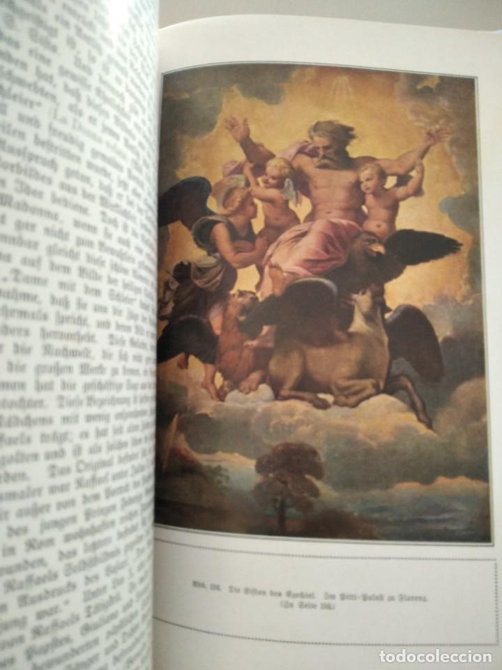 Libros antiguos: RAFFAEL VON KNACKFUB-KUNFTLER MONOGRAPHIEN-EJEMPLAR Nº1 DE LA COLECCION--LEIPZIG-1924 - Foto 18 - 221827520