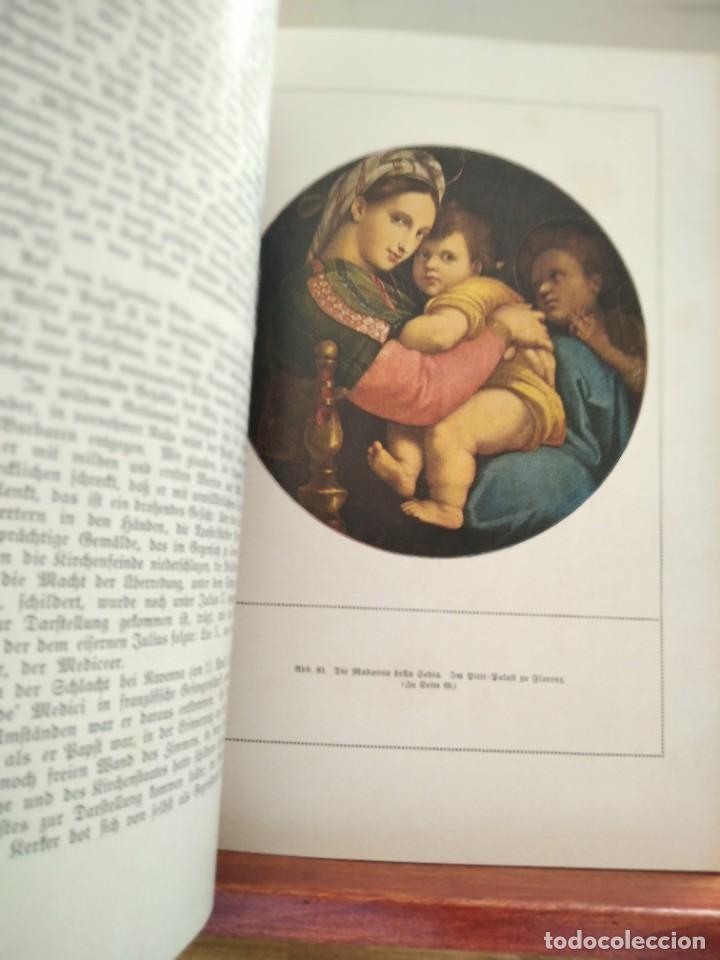 Libros antiguos: RAFFAEL VON KNACKFUB-KUNFTLER MONOGRAPHIEN-EJEMPLAR Nº1 DE LA COLECCION--LEIPZIG-1924 - Foto 19 - 221827520