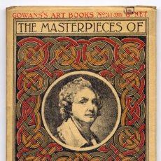 Libros antiguos: THE MASTERPIECES OF GREUZE (1725-1805). 1923 ('GOWANS'S ART BOOKS').. Lote 222362602