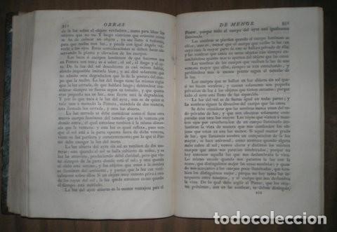 Libros antiguos: OBRAS DE D. ANTONIO RAFAEL MENGS, PRIMER PINTOR DE CÁMARA DEL REY. ED. JOSEPH NICOLÁS DE AZARA 1797 - Foto 3 - 111134375