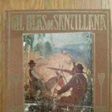 Libros antiguos: GIL BLAS DE SANTILLANA, ILUSTRADO POR JOSÉ SEGRELLES. EDITORIAL ARALUCE. Lote 222854061