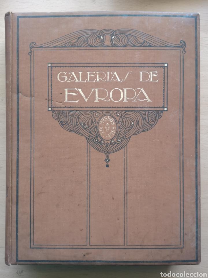 GALERÍAS DE EUROPA. MUSEOS ALEMANES. KOETSCHAU, PHILIPPI, VON REBER. LABOR CIRCA. 1935. (Libros Antiguos, Raros y Curiosos - Bellas artes, ocio y coleccion - Pintura)