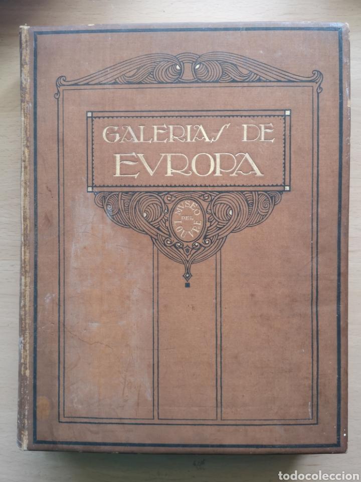 GALERÍAS DE EUROPA. MUSEO DEL LOUVRE. JOSÉ CAMON AZNAR. LABOR 1935. (Libros Antiguos, Raros y Curiosos - Bellas artes, ocio y coleccion - Pintura)