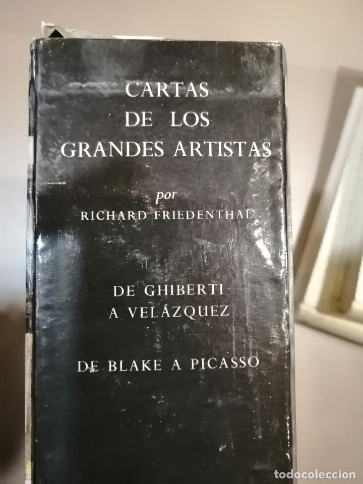 Libros antiguos: CARTAS DE GRANDES ARTISTAS. TOMO I DEGHIBERTI A VELÁSQUEZ Y II DE BLAKE A PICASSO. 1967 - Foto 3 - 226851495