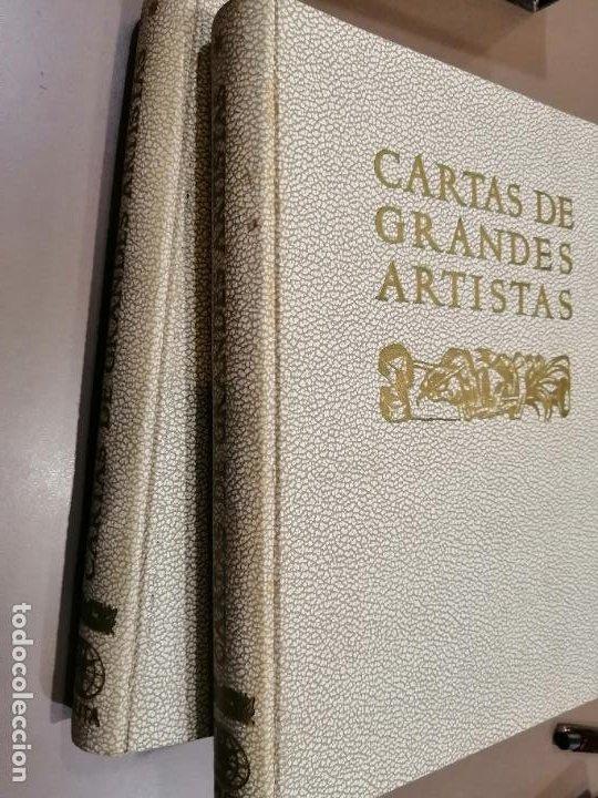 Libros antiguos: CARTAS DE GRANDES ARTISTAS. TOMO I DEGHIBERTI A VELÁSQUEZ Y II DE BLAKE A PICASSO. 1967 - Foto 6 - 226851495