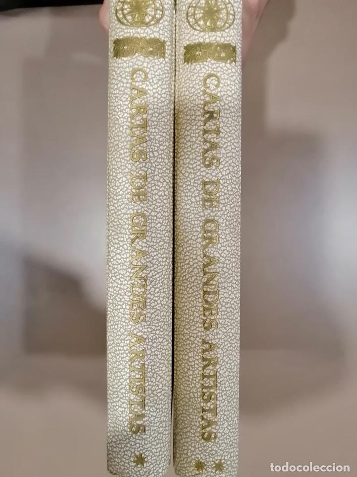 Libros antiguos: CARTAS DE GRANDES ARTISTAS. TOMO I DEGHIBERTI A VELÁSQUEZ Y II DE BLAKE A PICASSO. 1967 - Foto 7 - 226851495